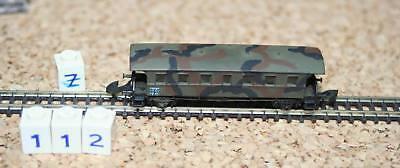 Acquista A Buon Mercato Z 112 -- Vetture Passeggeri/squadra Carrello Della Bundeswehr - - Märklin Z-en Der Bundeswehr - - Märklin Z It-it Mostra Il Titolo Originale