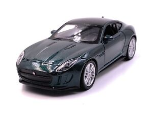 Jaguar-Jag-F-TYPE-voiture-miniature-voiture-vert-echelle-1-34-LGPL