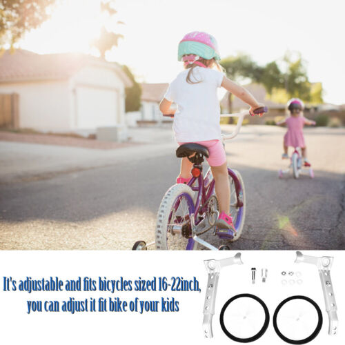 """for Adult//Kids Bicycle Bike Cycle Universal Training Wheels Stabilisers 12-22/"""""""