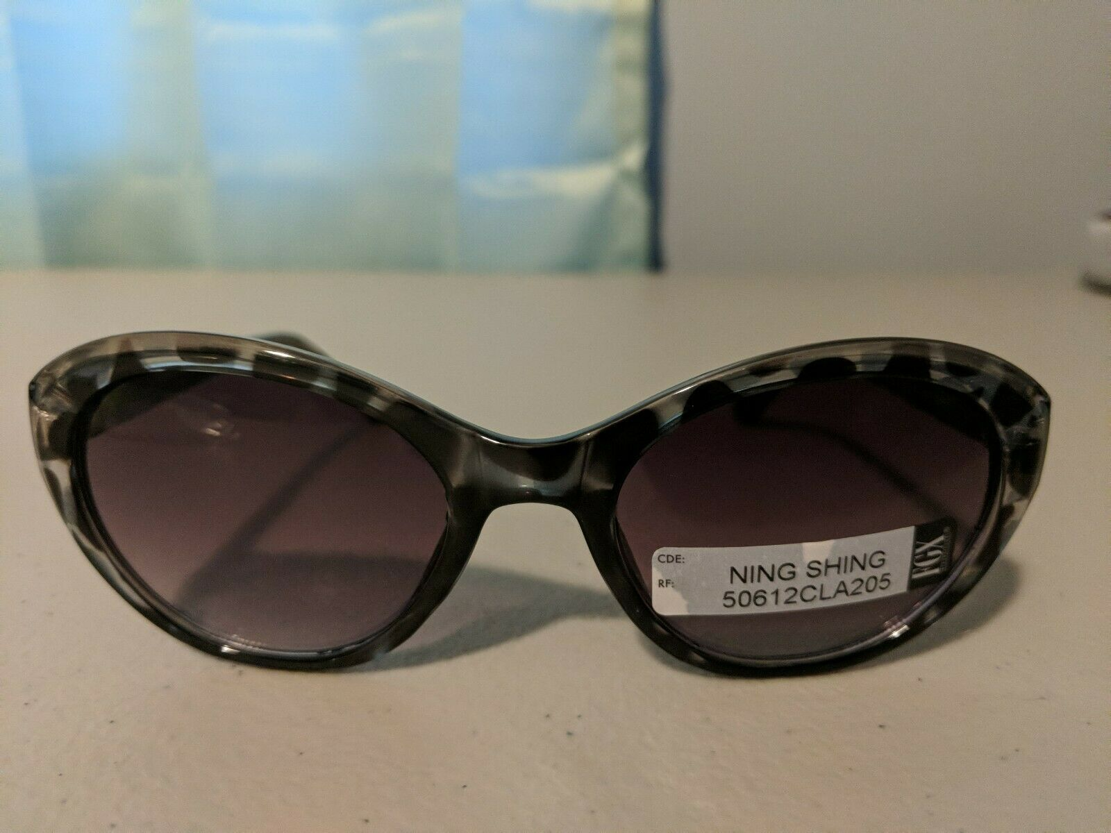 Fgx Women Sunglasses #76   Brand New   Black and Grey Multicolor Frame