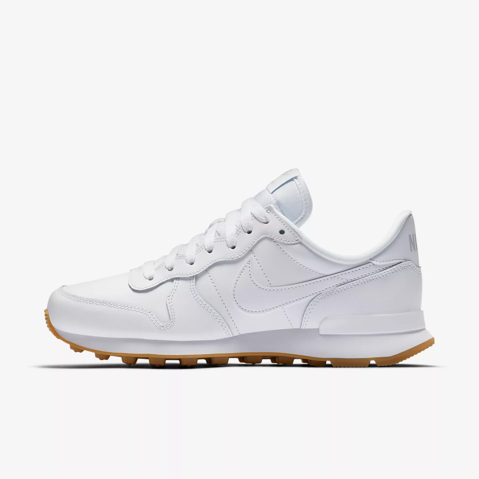 NIKE INTERNATIONALIST - Weiß   GUM   braun - 828407 103 - EU 43 - UK 8