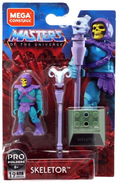 Masters Of The Universe Mega Construx Skeletor Pro Builders 19 Pcs BRAND NEW