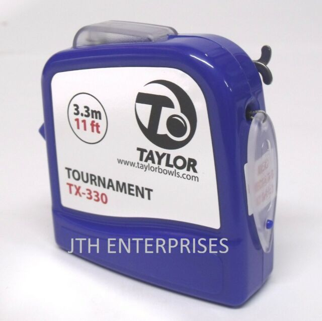 Taylor 11FT Tournament TX Bowls Measure in