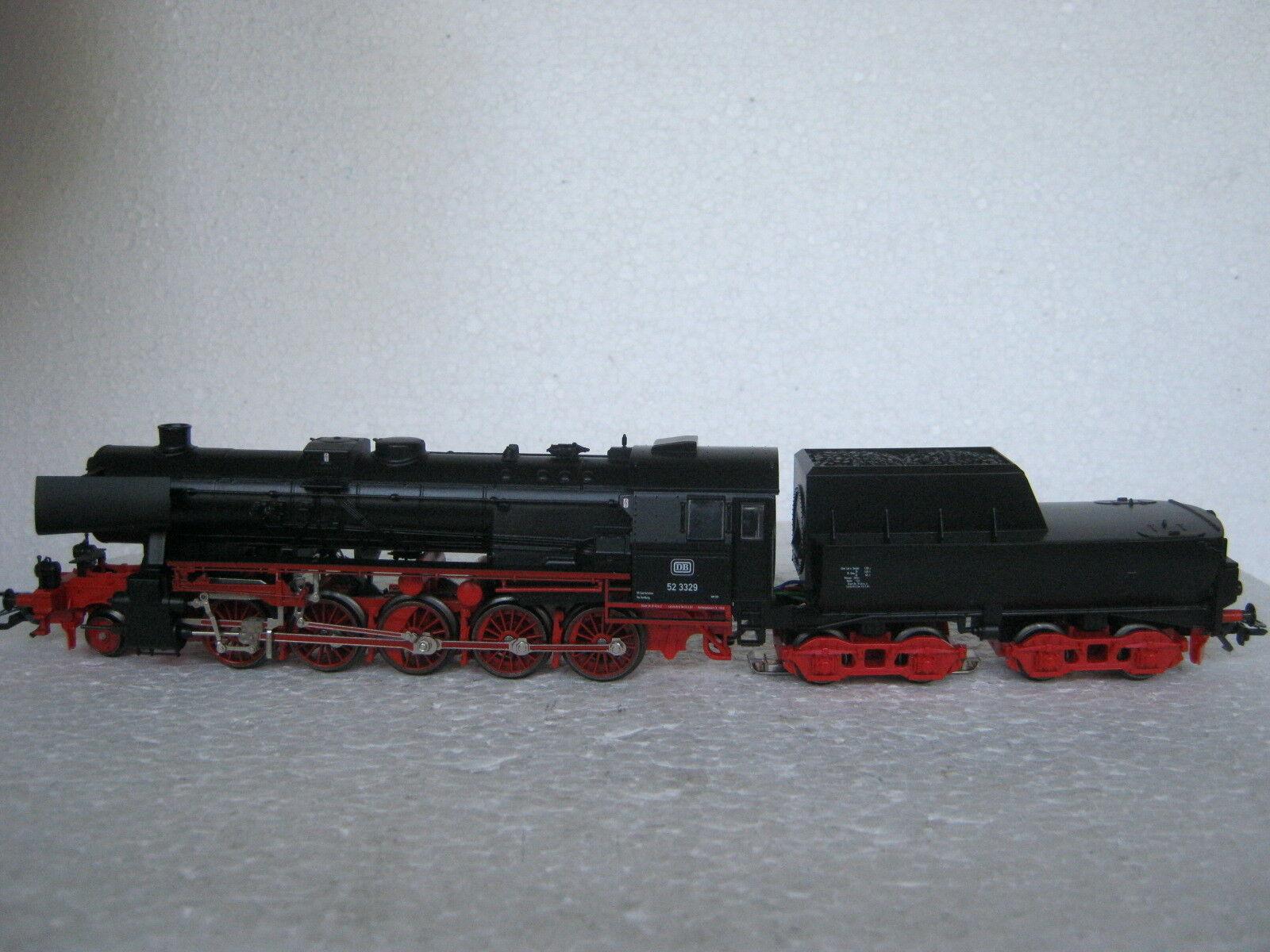 Digital   HO/AC 3415 a Vapore Locomotiva Br 52 3329 DB  co/183-89r7/10
