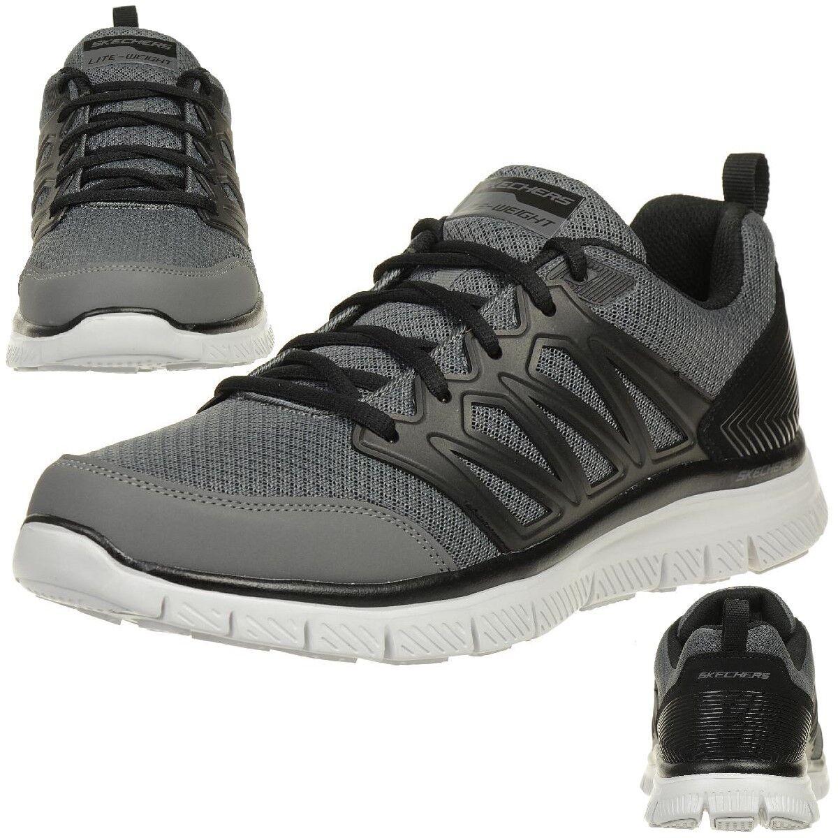 Skechers Skech Flex Advantage SHEAKS Herren Sneaker Fitness Schuhe GYBK