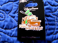 Disney Cars Tow Mater - Who Backfired? On Card Character Trading Pin