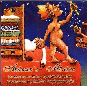 Andersens-Maerchen-Des-Kaisers-neue-Kleider-Das-h-Entlein-Hoerbuch-NEU-CD