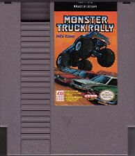 MONSTER TRUCK RALLY ORIGINAL NINTENDO GAME SYSTEM NES HQ