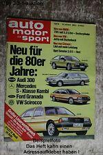 AMS Auto Motor Sport 15/79 BMW 735 i Opel Senator Kawa Z1000 ST VW Jetta
