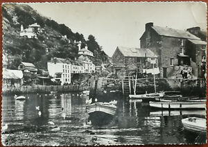 The-Harbour-Polerro-Cornwall-Post-Card