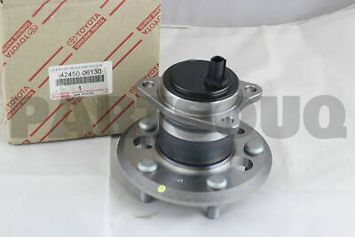 Genuine Toyota 42450-33020 Axle Hub and Bearing Assembly Rear