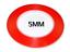 25 metros Transparente Cinta de doble cara con forro rojo OPP O Mascotas ancho 1mm-20mm