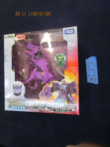 Cc10_14 Transformers United Lot Un 31 Beast Megatron T-Rex Chug Wars Machines
