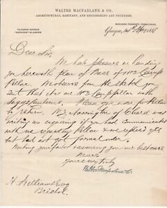 Walter-Macfarlane-amp-Co-1888-Engineering-Founders-Glasgow-Re-Order-Letter-35775