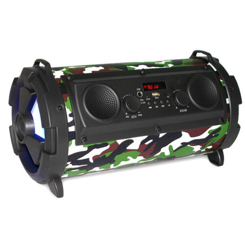 30W Wireless Bluetooth Speaker HiFi Stereo LOUD Bass Subwoofer MIC TF FM Radio