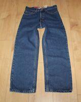 Blue Denim Levi's 569 Zip Loose Straight Cowboy Stonewashed Jeans W 27 L 27 Boho
