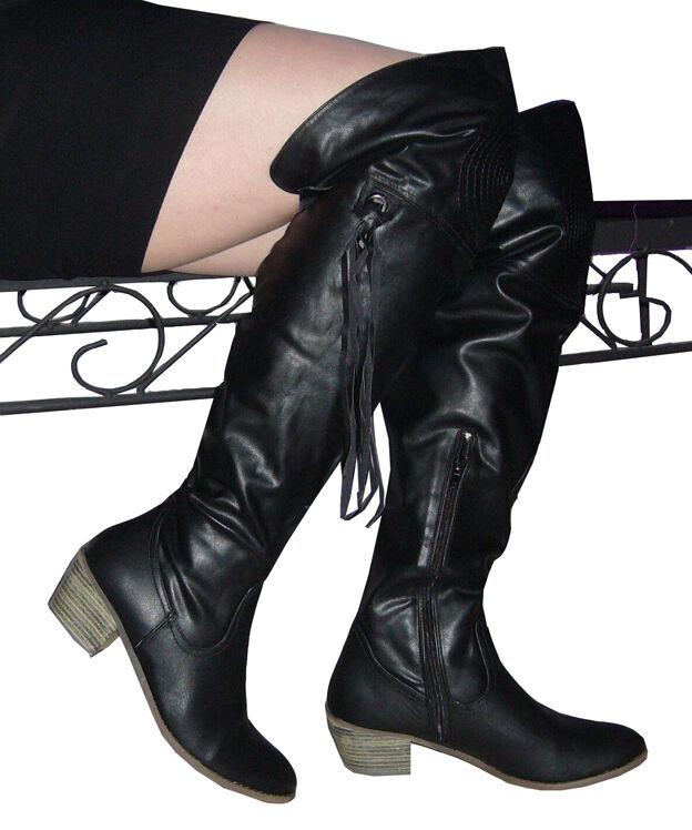Calcetas Western botas botas botas de invierno forradas 36 37 38 39 40 41