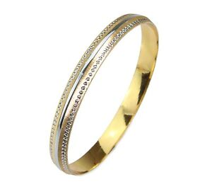 8mm Gold//Silver Plated Etched Design Sikh Punjabi Kada//Kara//Bangle//Bracelet