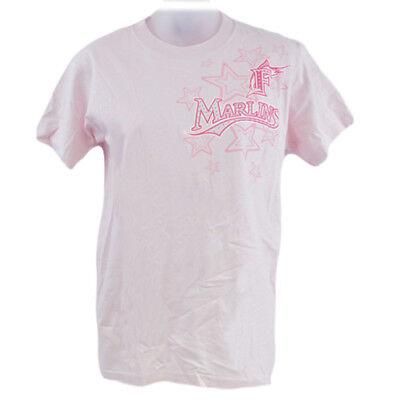 Weitere Ballsportarten Mlb Florida Miami Marlins Jugendliche Kinder Mädchen Baseball T-shirt Sport Rosa SchnäPpchenverkauf Zum Jahresende Baseball & Softball