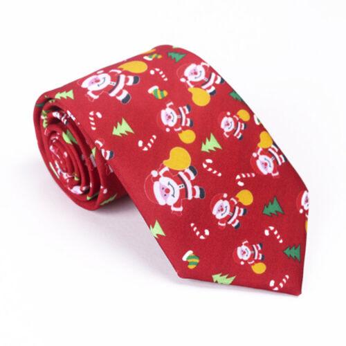 man Christmas Polyester Casual Necktie Men Tie Neck Ties