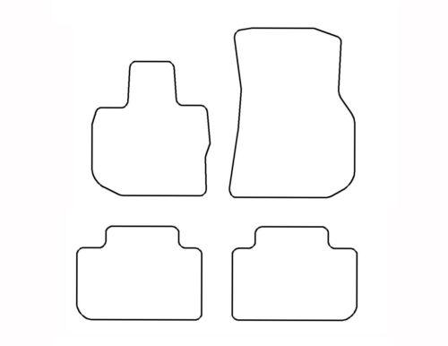 Logo X3 Fußmatten für BMW G01 2017-Original Qualität Velours limitierte Auflage