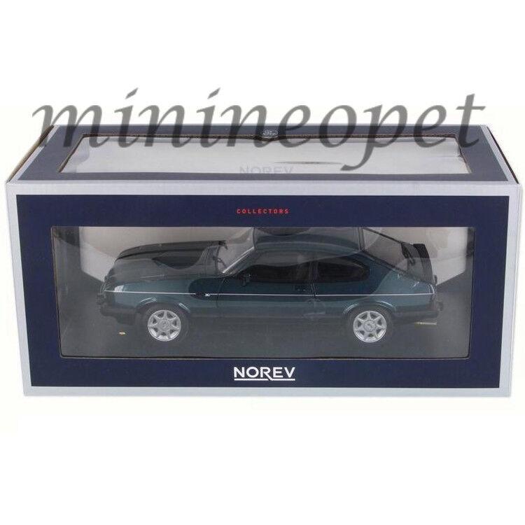 mas barato Norev 182718 1986 1986 1986 86 Ford Capri 280 Brooklands 1 18 Diecast verde Metálico  Las ventas en línea ahorran un 70%.
