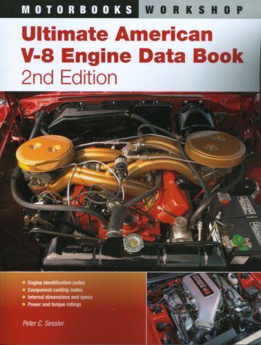1964 65 66 67 68 69 70 71 72 73 74 75 V-8 CHEVELLE//SS ENGINE CASTING//DATA BOOK