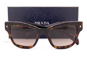 761861f26037 Brand New Prada Sunglasses PR 29RS 2AU 3D0 Havana Brown Gradient For ...