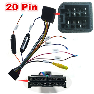 wiring harness connector ends universal 20 pin car stereo radio iso wiring harness connector  iso wiring harness connector
