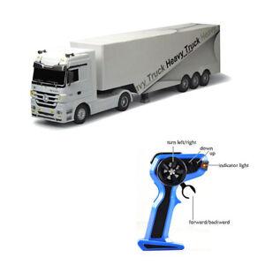conteneur d tachable rc camion t l command sans fil 1 32 v hicule jouet ebay. Black Bedroom Furniture Sets. Home Design Ideas