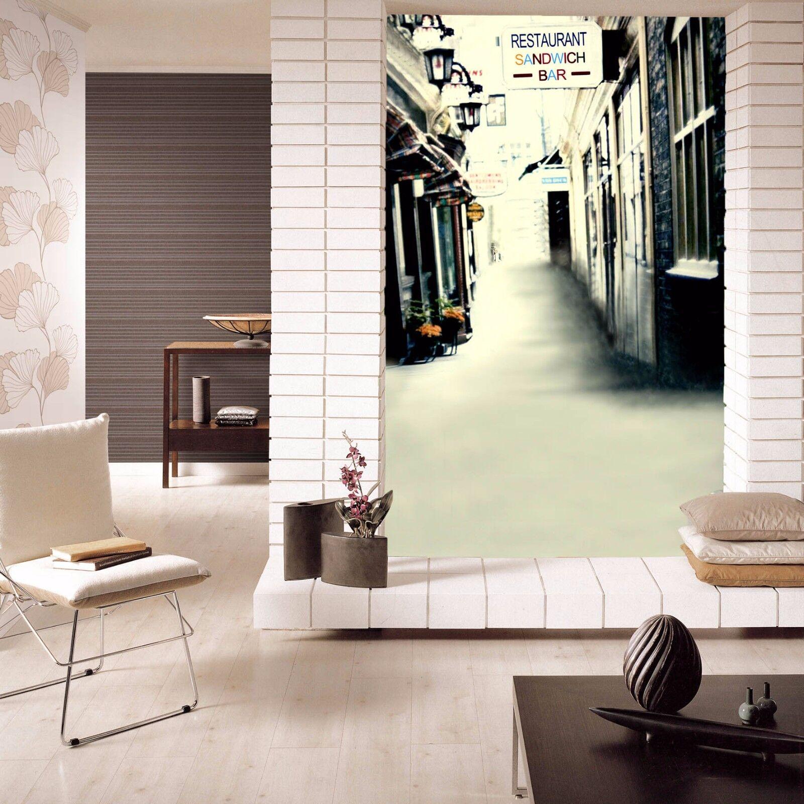 3d Street Bar Sign 75 Wall Paper Murals Wall Print Wall Wallpaper