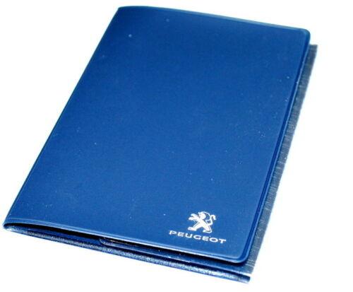 Peugeot Dark Blue Document Holder Passport Driving License Papers E14CODV602