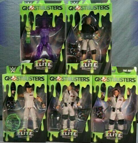 WWE GHOSTBUSTERS Elite raro esclusiva Action Figure Wrestling