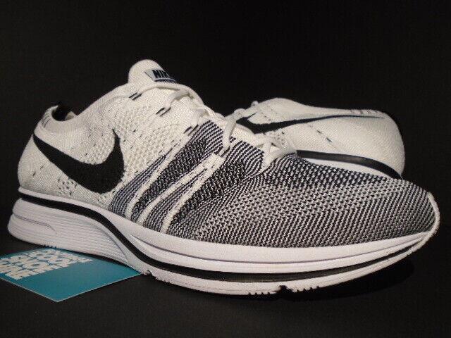 83b7680a2446 2017 Nike Flyknit Trainer The Return Men s Size 11 Black White Oreo Ah8396  100 for sale online