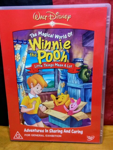 The Magical World Of Winnie The Pooh - Little Things Mean A Lot (DVD, 2005)