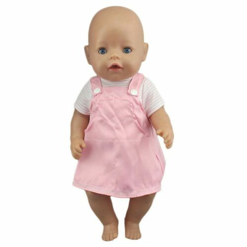 Doll Jump Suits Fit For 43cm Baby Doll Shirts and Tops Reborn Baby Doll Clothes