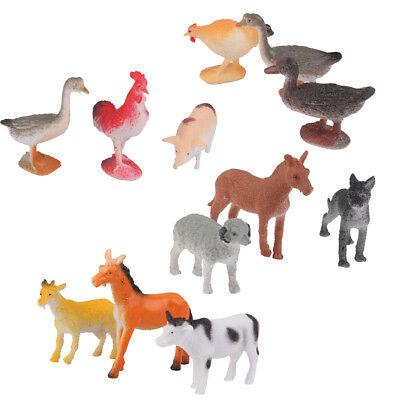 Home Farm Animals Models BIG Plastic Figures Decoration Sheep Kids Horse Gift