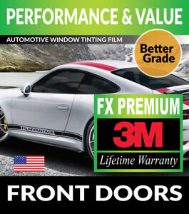 PRECUT WINDOW TINT W// 3M FX-PREMIUM FOR FORD MUSTANG COUPE 15-18