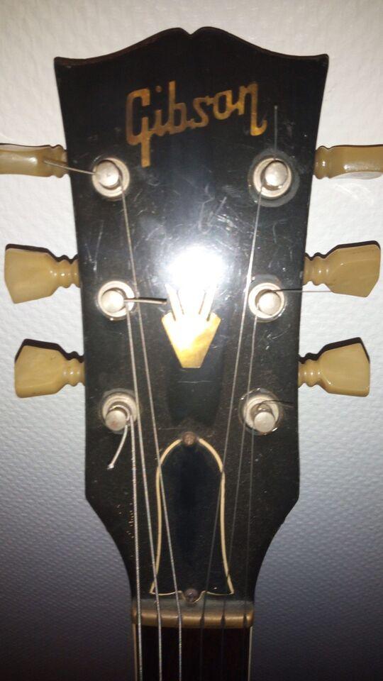 Vintage 1976 Gibson 335 TD m hardcase, vinrød.