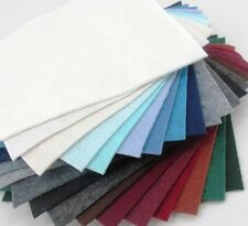 """21 - 6""""X6""""  Winter Colors Collection - Merino Wool blend Felt Sheets"""