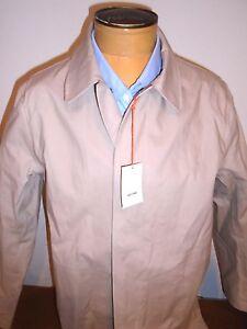 Jack-Spade-100-Cotton-Khaki-Tan-Bonded-Trench-Coat-Rain-Coat-NWT-Medium-598