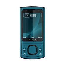 Nokia 6700 Slide Gasolina Azul 3G video llamada 5MP teléfono desbloqueado-Garantía