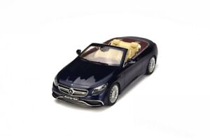 Gt Spirit 150 153 Mercedes Amg Résine Model Cars Bleu brillant / foncé 1:18