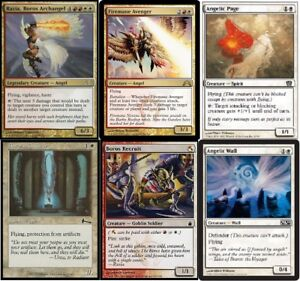 Details about Boros Angel (Red White) - Razia - Recruit -60 Cards - MTG -  Magic Gathering