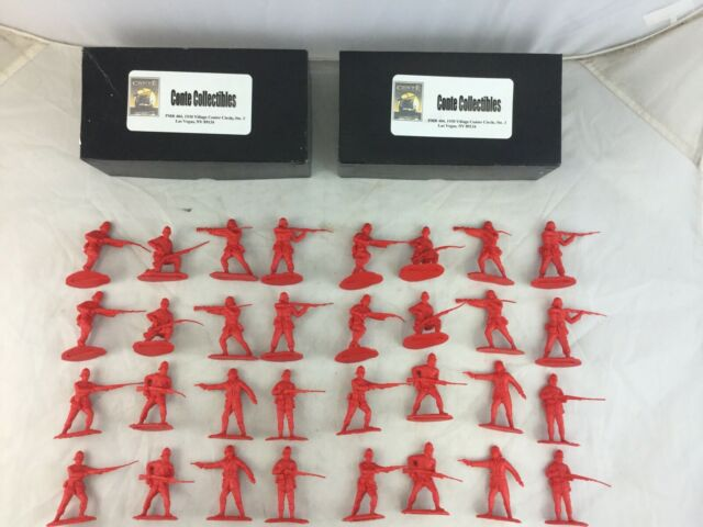 2 Sets Conte Collectibles 24th Foot Set #1 Zulu Wars Toy Soldiers