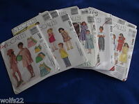 C Mccall's All Patterns Are Size 4-6 (4,5,6) U-pick 10+ Listed 9372 Nip