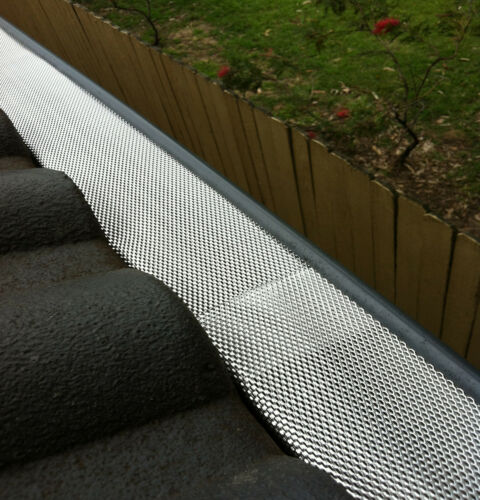 1 of 1 - DELUXE Gutter Guard Aluminium Leaf Mesh - That Keeps The Leaves Out
