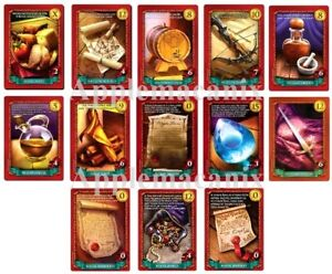 13-NEW-Sheriff-of-Nottingham-Promo-Cards-Gen-Con-2018-Gemstone-Jewels-MORE