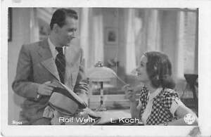 B49385-Rolf-Weith-and-L-Koch-Couple-Ross-5x7cm-Actors-Acteurs