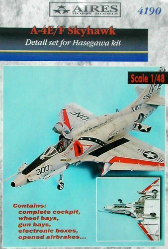 Aires 1 48  A-4E F Skyhawk Detail Set for Hasegawa kit